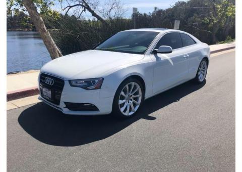 2013 Audi A5 2.0T Premium Plus — very low mileage + superb condition